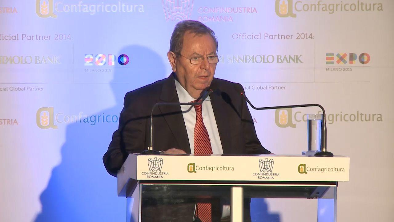 Intervento di George Constantin Păunescu, Presidente UGIR e ACPR