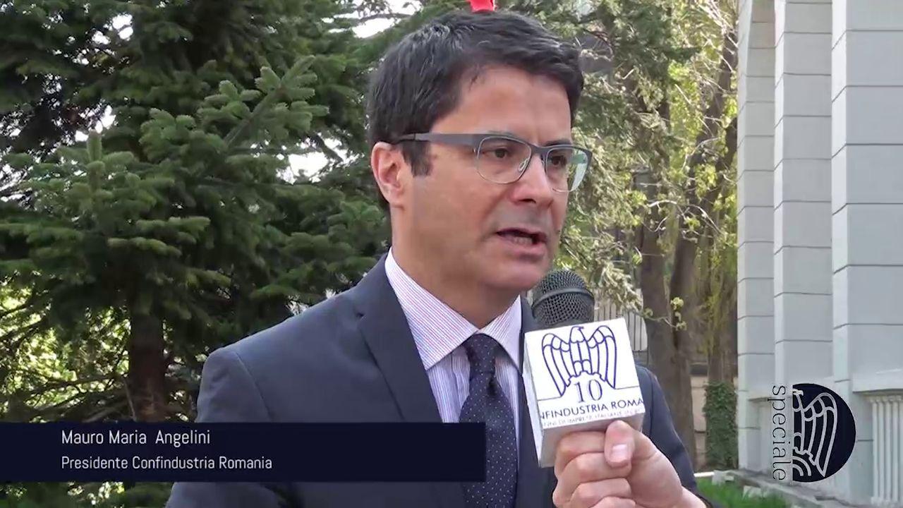 Intervista a Mauro Maria  Angelini, Presidente Confindustria Romania