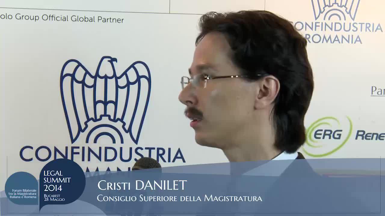 Intervista a Cristi Danilet – Consiglio Superiore Della Magistratura