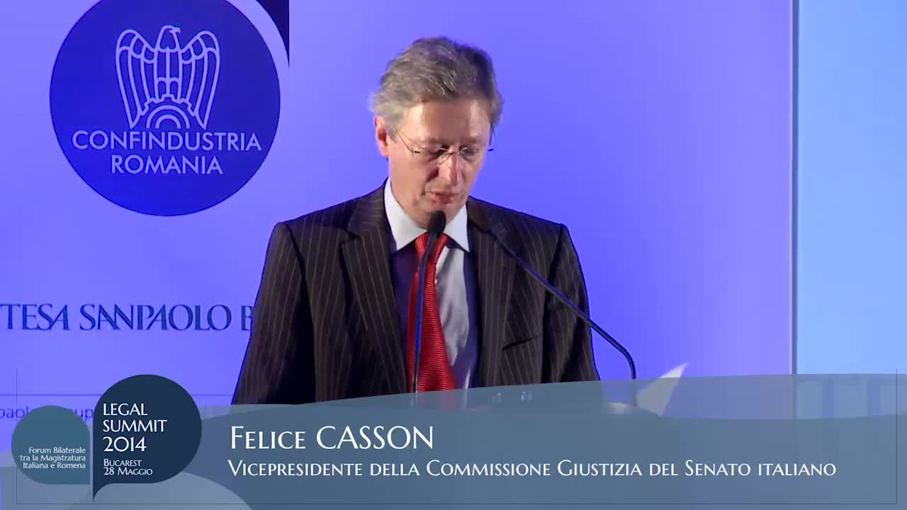 Intervento di On. Felice Casson