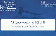 Intervento di Mauro Maria Angelini, Presidente di Confindustria Romania