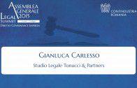 Intervento di Gianluca Carlesso, Studio Legale Tonucci & Partners
