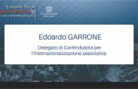 Intervento di Edoardo Garrone – Both Worlds 2015