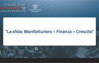 La sfida – Manifatturiero – Finanza – Crescita – Both Worlds 2015