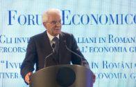 Intervento di Sergio Mattarella – Forum Economico 2016