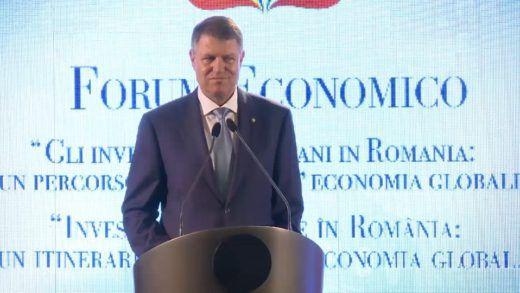 Intervento di Klaus Iohannis – Forum Economico 2016
