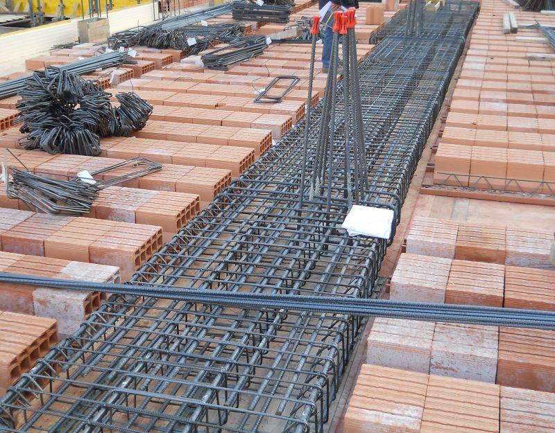 A luglio in aumento le opere di costruzione